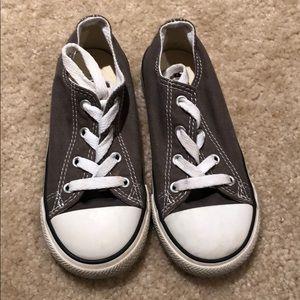 Grey Kids Converse